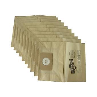 Numatic George Staubsauger Papierstaub Taschen x 10