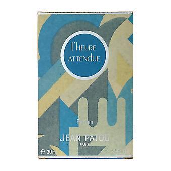 Jean Patou L'Heure Attendue Parfum всплеск 1.0 унций/30 мл, в коробке (Винтаж)
