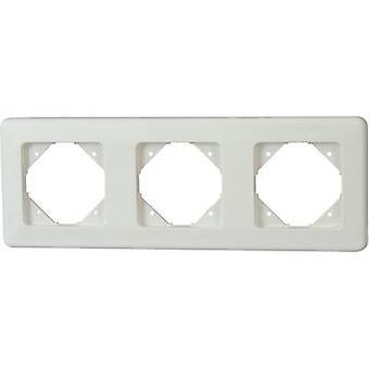 Kopp 3 x blanco Ártico de Europa marco, Matt 303313087
