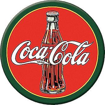 Botella de Coca Cola años 1930 ronda imán de nevera