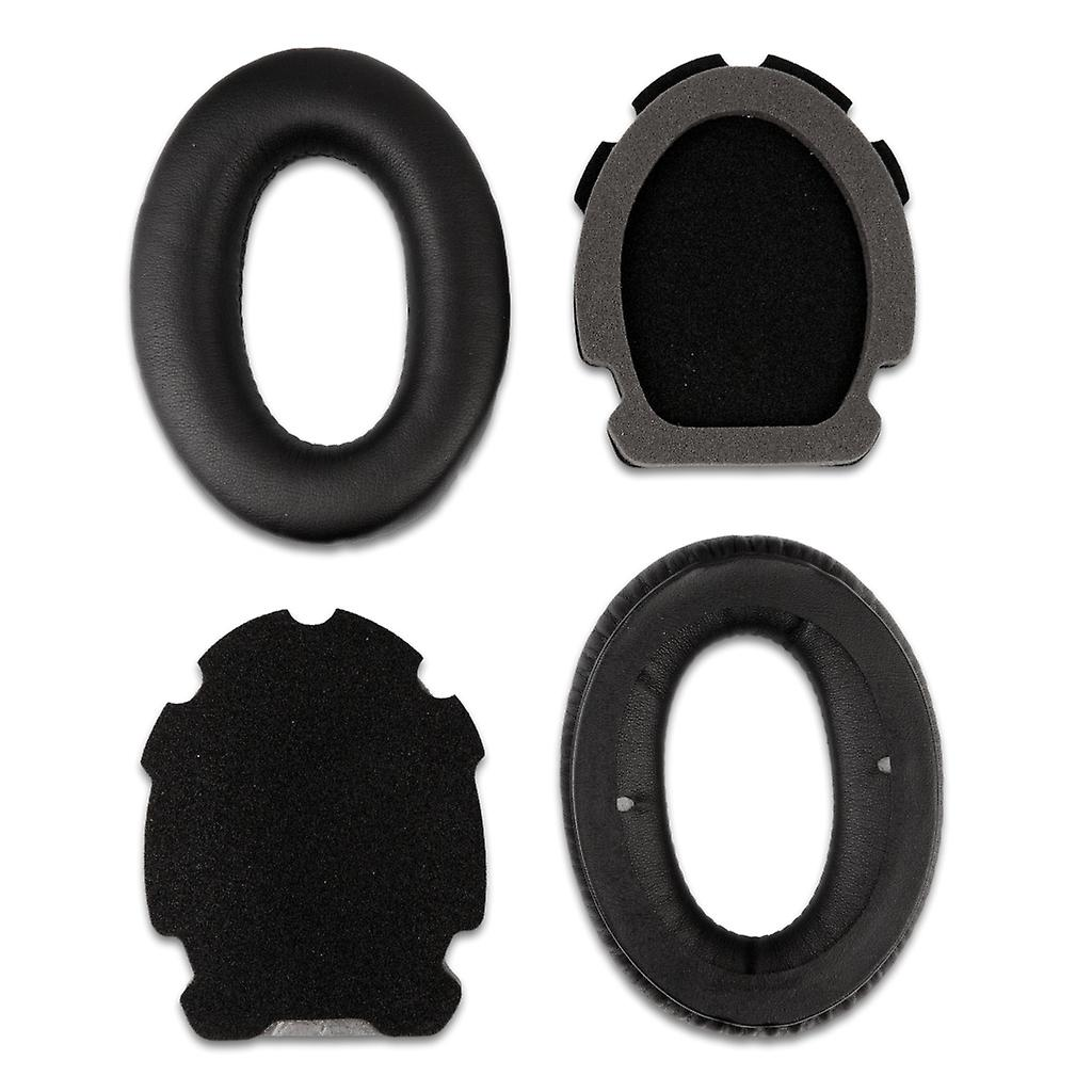 REYTID Replacement Ear Pad Cushion Kit Compatible with Bose A20 A10 X Aviation Headphones - Black