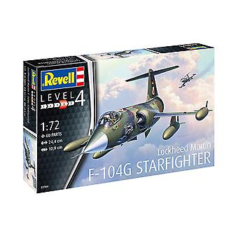 Revell 63904 1:72 F-104G Starfighter Plastic Model Kit