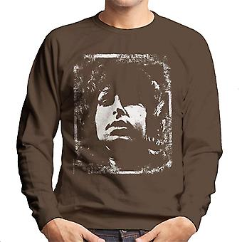 TV Zeiten Jim Morrison Retro Herren Sweatshirt