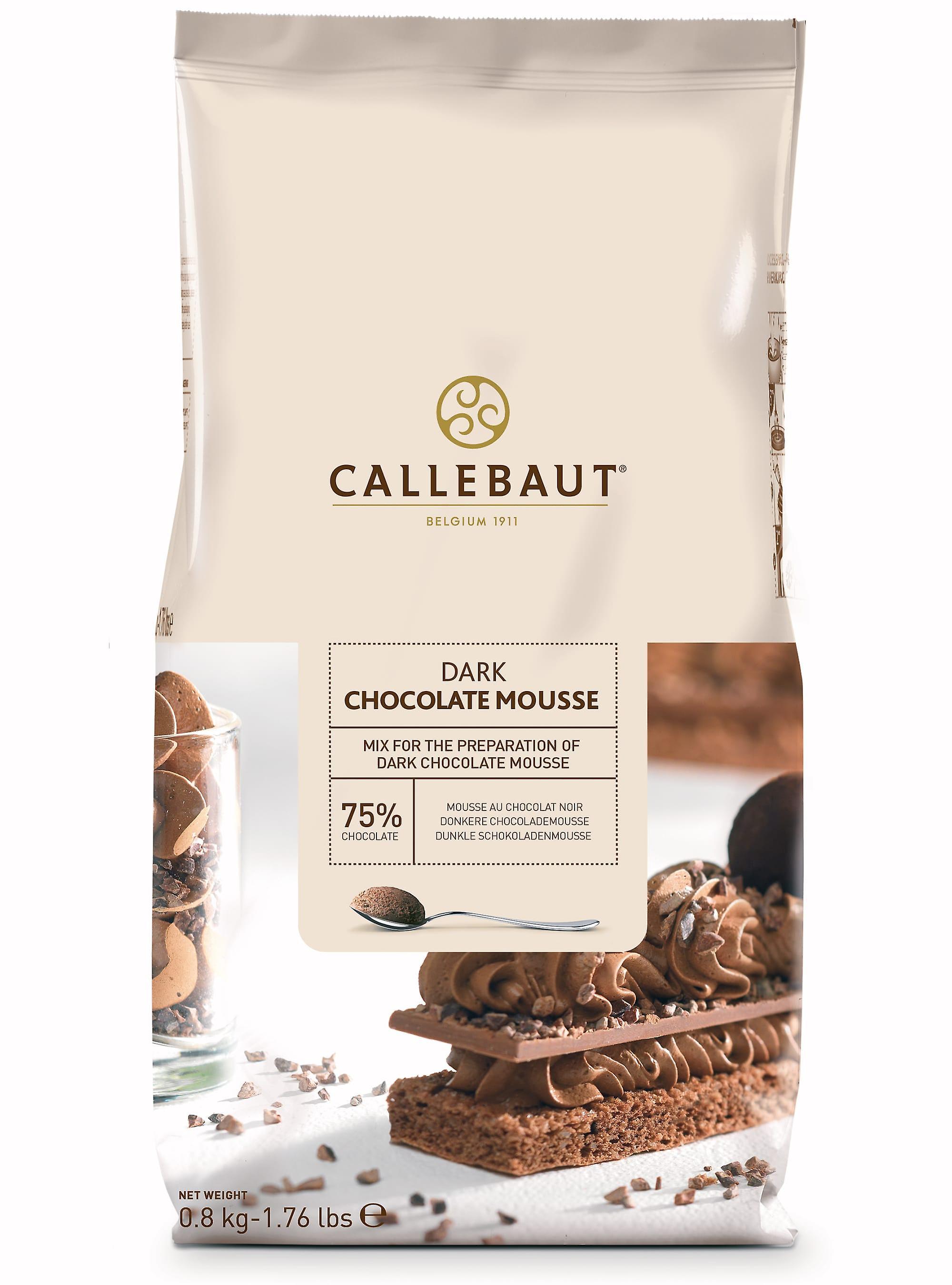 Callebaut Dark Chocolate Mousse Powder Mix