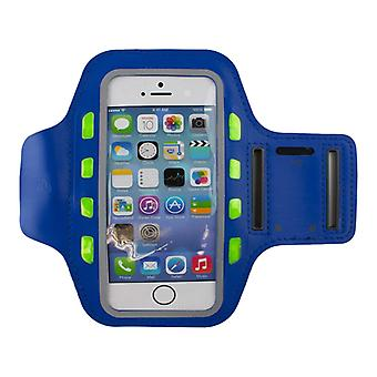 LED Sports bracelet for Smartphone-Blue