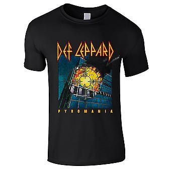 Def Leppard-Pyromania Kids T-Shirt