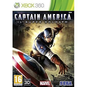 Captain America super Soldier (Xbox 360)-fabriks forseglet