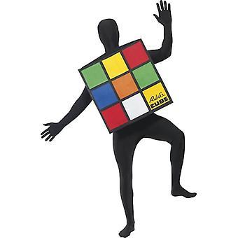 Rubik's Küp Kostümü.  Tek Boyut