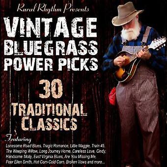 Vintage Bluegrass- Power Picks: 30 Tradi - Vintage Bluegrass-Power Picks: 30 Tradi [CD] USA import