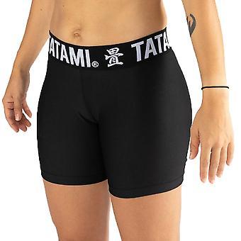 Tatami Fightwear Damen schwarz Minimal VT Shorts