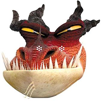 Monstrous Nightmare How To Train Your Dragon 2 Party Card Fancy Dress Mask (single)