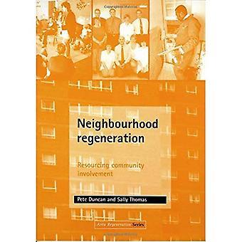Régénération du quartier: Participation communautaire de ressourcement (zone de régénération)
