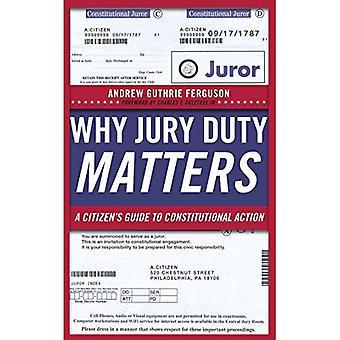 Pourquoi le juré important: Un Guide du citoyen au recours constitutionnel