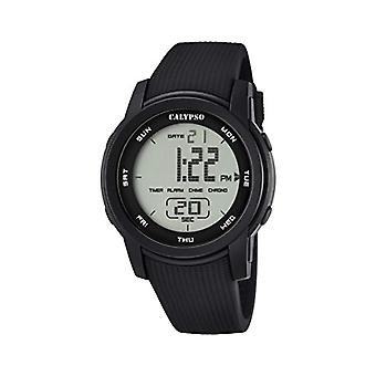 Calypso K5698/6-Unisex wristwatch, plastic, colour: black