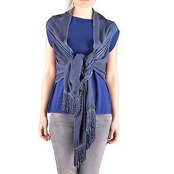 Altea Ezbc048079 Women's Blue Viscose Shawl