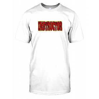 Instruktør - Rock Hard Mens T skjorte