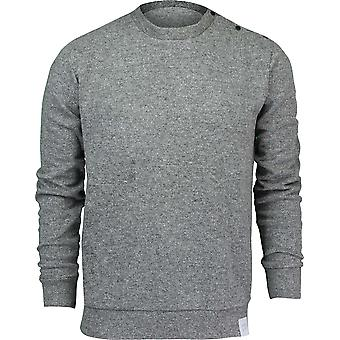Quiksilver Mens Quikbond Crew Neck Sweater - Medium Gray Heather