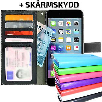 TOP Wallet Case iPhone 6 PLUS/6S PLUS ID Pocket + protection