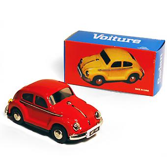 Car - Retro Tin Volkswagen collectionner - Rouge