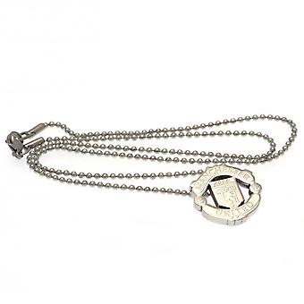 Manchester United FC Stainless Steel Pendant And Chain