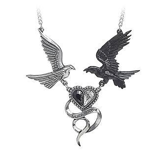 Alchemie gotische Epiphanie von St Corvus Pewter Pendant