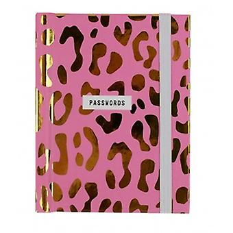 Leopard Print Password Notebook