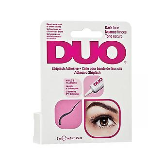 Duo Strip Eyelash întuneric uscare firma Hold lung adeziv lipici 7g