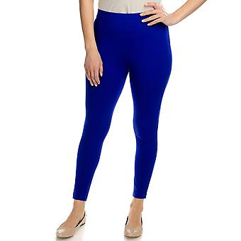 Slimming Options for Kate & Mallory Leggings Shaping Cropped Blue A408576