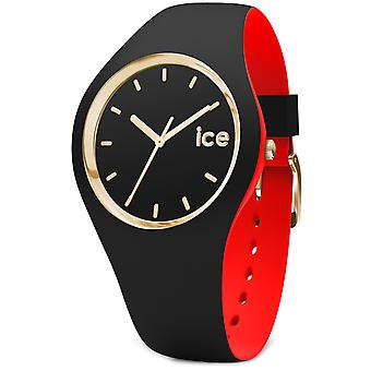 Ice loulou Watch for Unisex Analog Quartz with Silicone Bracelet IC007235