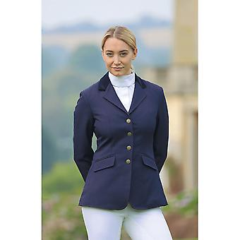 Shires Aston Ladies Show Jacket - Navy Blue