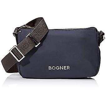 بوغنر BOGNERKlosters كليو Shoulderbag Shz حقيبة الكتف المرأةالأزرق (الأزرق الداكن) 7x14x23 سم (W x H x L)