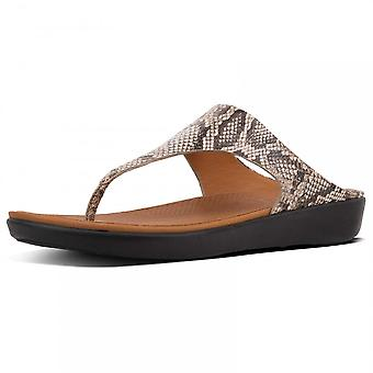 Fitflop™ Banda™ Toe Thong Sandals Taupe