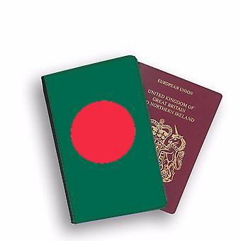 BANGLADESH Flag Passport Holder Style Case Cover Protective Wallet Flags design