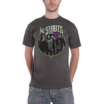 The Struts T Shirt Standing Band Logo new Official Mens Dark Heather