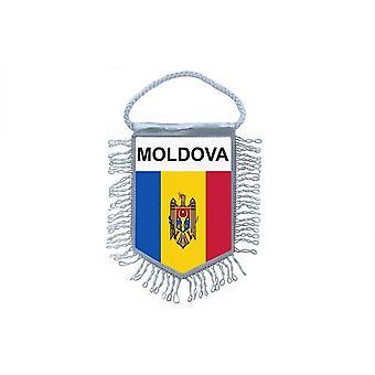 Vlag mini vlag land auto decoratie Moldavië Moldavië