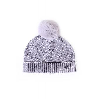 Ted Baker Womens Accessories Yselle Faux Fur Pom Hotflix Bobble Hat