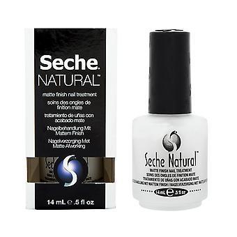 Seche Natural Calcium Blend Weak Nail Strengthening Matte Nail Base Coat - 14ml