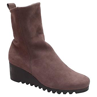 Arche Crepe Sole Three Quarter Grey Ankle Boot