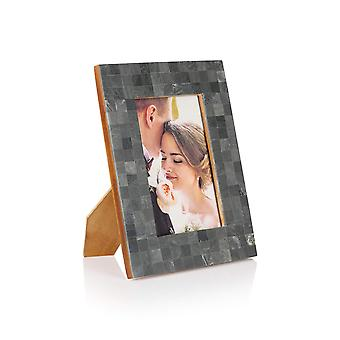 Penguin Home Handcrafted Charcoal picture frame
