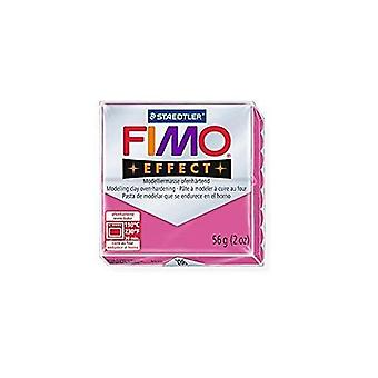 STAEDTLER FIMO Effect 8020-286 Oven Hardening Modelling Clay, 57 g - Ruby Quartz