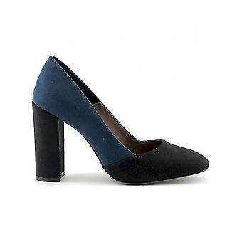 صنع في إيطاليا-احذيه-كعب عالي-GIADA_NERO-بلو-نساء-ازرق غامق ، اسود-40