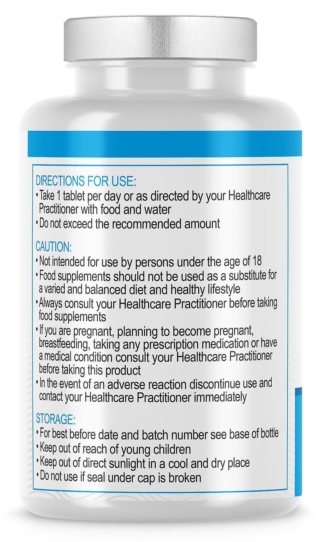 5HTP (180 tabletten) 200mg voor stress en angst Relief-Evo Nutrition