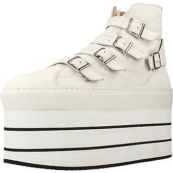 Gele sport/witte Lunatica schoenen