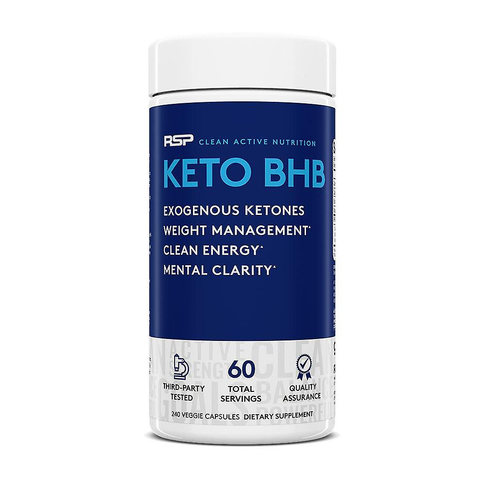 Rsp keto bhb - exogenous ketones, support ketosis, boost energy, enhance focus, keto weight management capsules, beta-hydroxybutyrate bhb salts