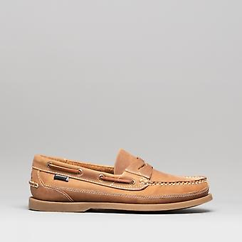 Chatham Gaff Ii G2 Mens Leather Boat Shoes Walnut