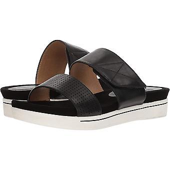 ADRIENNE VITTADINI الأحذية المرأة & أبوس؛ س كاليه صنال، أسود وصغير، 6 الولايات المتحدة المتوسطة