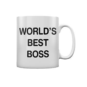 A caneca do melhor chefe do mundo da Grindstore