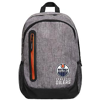 FOCO Backpack NHL Rucksack - GREY Edmonton Oilers