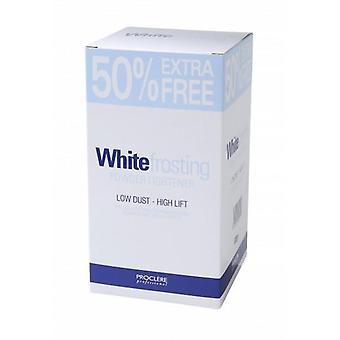 Proclere alb glazură alb pulbere înălbitor 600g