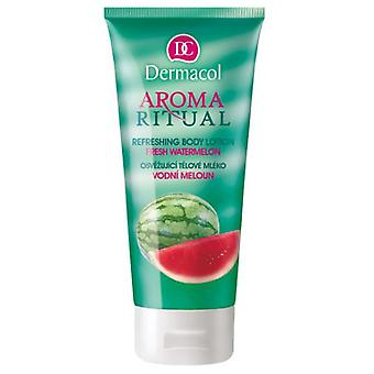 رائحة ديرماكول لوسيون الجسم المنعشة طقوس-البطيخ الطازج